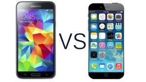 iPhone 6 VS Samsung Galaxy S5
