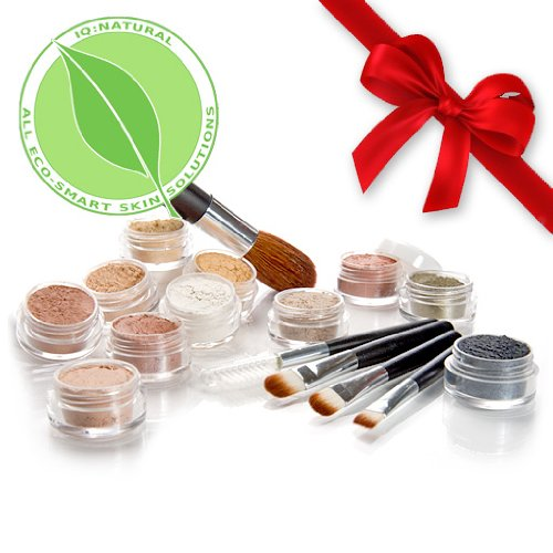 IQ Natural Mineral Makeup Samples Set - Consumster