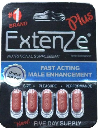 Extenze Sold At Walmart